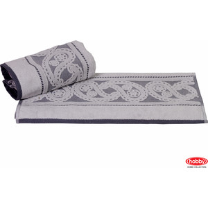 Полотенце Hobby home collection Hurrem 50x90 см серый (1501000484) водолазка pettli collection pettli collection pe034ewvwc32