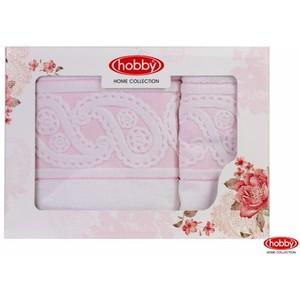 Набор из 2 полотенец Hobby home collection Hurrem 50x90/70x140 белый (1501001221)