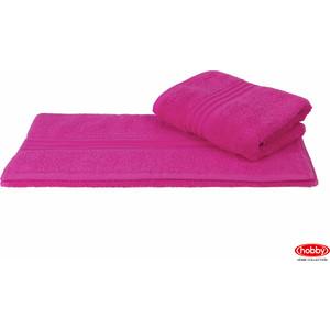 где купить  Полотенце Hobby home collection Rainbow 70x140 см темно-розовый (1501000578)  по лучшей цене