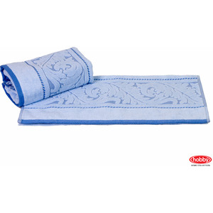 Полотенце Hobby home collection Sultan 50x90 см голубой (1501000585) водолазка pettli collection pettli collection pe034ewvwc32
