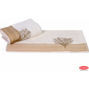 Полотенце Hobby home collection Infinity 50x90 см кремовый (1501000782)