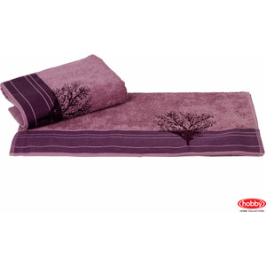 Полотенце Hobby home collection Infinity 50x90 см фиолетовый (1501000786)