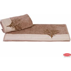 Полотенце Hobby home collection Infinity 70x140 см светло-коричневый (1501001175) infinity kids 32134510002