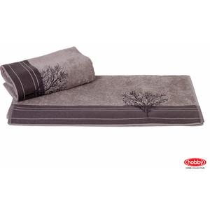Полотенце Hobby home collection Infinity 70x140 см серый (1501001176) водолазка pettli collection pettli collection pe034ewvwc32