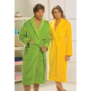 все цены на Халат женский Hobby home collection Angora M желтый (1501000827)