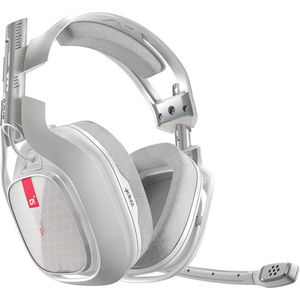 Игровые наушники ASTRO Gaming A40 TR White (PC) gaming headset led light glow noise cancealing pc gamer super bass headband headphones with microphone for computer pc