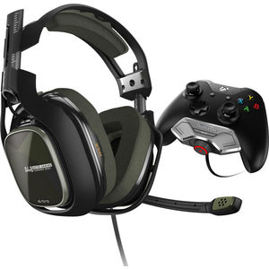 Игровые наушники ASTRO Gaming A40 TR + Mixamp M80 Black-Olive (Xbox One)