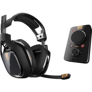 Игровые наушники ASTRO Gaming A40 TR + MixAmp Pro TR Black (PS4/ PC)  рюкзак astro gaming scout
