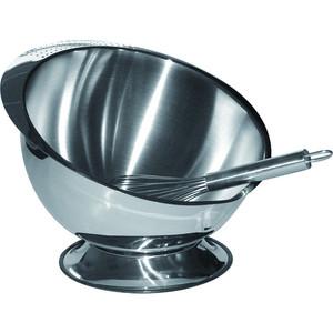 Кулинарнаячашасподставкойивенчиком 24 см Baumalu Нержавеющая сталь (342922)