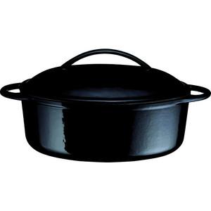 Кастрюля 28 см Baumalu Черный глянцевый брилиант (387002) кастрюля 28 см baumalu черный глянцевый брилиант 387002