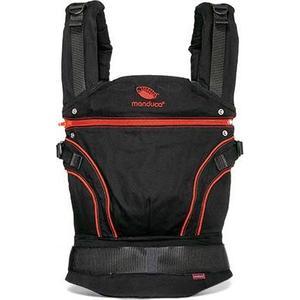 Manduca Слинг-рюкзак BlackLine RadicalRed в комплекте с накладками на лямки (Красный) (2222011003)