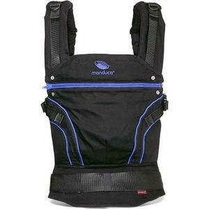 Manduca Слинг-рюкзак BlackLine AbsoluteBlue в комплекте с накладками на лямки (Синий) (2222011004)