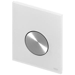Панель смыва для писсуара TECE TECEloop Urinal (9242661) стекло белое, клавиша нержавеющая сталь панель смыва для писсуара tece teceloop urinal 9242625 хром матовый
