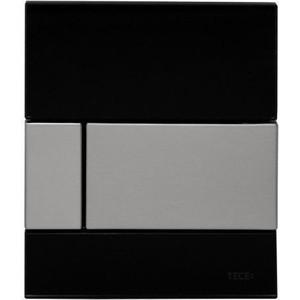 Панель смыва для писсуара TECE TECEsquare Urinal (9242806) стеклянная стекло чёрное, клавиша нержавеющая сталь цены