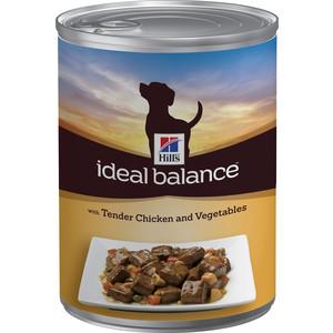 Консервы Hill's Ideal Balance with Tender Chicken & Vegetables с курицей и овощами для собак 363гр (2310)