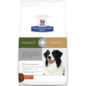 Сухой корм Hill's Prescription Diet Metabolic & Mobility with Chicken с курицей диета при коррекции веса для собак 12 кг (10039)