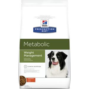 Сухой корм Hill's Prescription Diet Metabolic Weight Managment with Chicken с курицей диета при коррекции веса для собак 4кг (2098) 5 boxes super calcium powder with metabolic factors 10g bag 10 bags