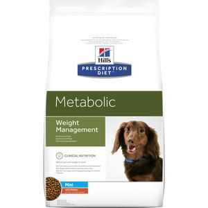 Сухой корм Hill's Prescription Diet Metabolic Weight Managment Mini with Chicken с курицей диета при коррекции веса для собак 1,5кг