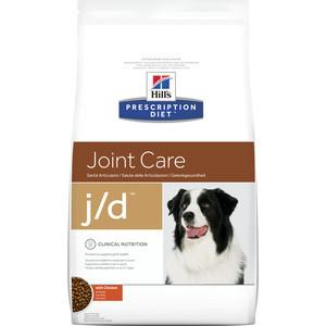 Сухой корм Hill's Prescription Diet j/d Joint Care with Chicken с курицей диета при лечении заболеваний суставов для собак 2кг (4516) цена и фото