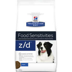 Сухой корм Hill's Prescription Diet z/d Food Sensitivities Original диета при лечении пищевых аллергий для собак 3кг (8887) original d