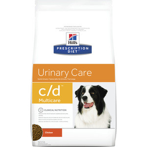 Сухой корм Hill's Prescription Diet c/d Urinary Care Milticare with Chicken с курицей диета при профилактике МКБ для собак 12кг (9176) цена и фото