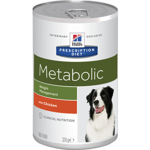 Консервы Hill's Prescription Diet Metabolic Weight Managment with Chicken с курицей диета при коррекции веса для собак 370г (2101) 5 boxes super calcium powder with metabolic factors 10g bag 10 bags