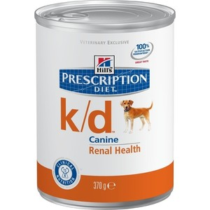 Консервы Hill's Prescription Diet k/d Kidney Care with Chicken с курицей диета при лечении заболеваний почек и МКБ для собак 370г (8010) сухой корм hill s prescription diet k d kidney care with chicken с курицей диета при заболевании почек и мкб для кошек 5кг 4308