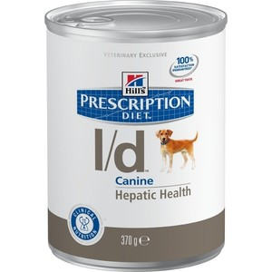 Консервы Hill's Prescription Diet l/d Canine Hepatic Health диета при лечении заболеваний печени для собак 370г (8011) купить
