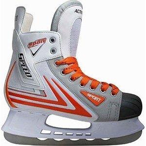 Коньки хоккейные Action PW-217 р. 41  - купить со скидкой