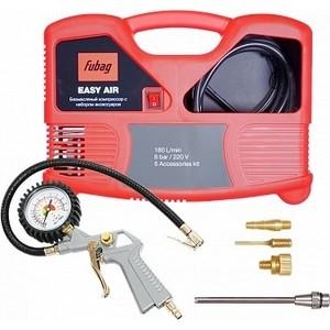 Компрессор Fubag Easy Air компрессор fubag b4000b 100 см3 45681496