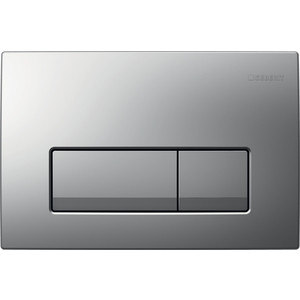 Кнопка смыва Geberit Delta 51 хром матовый (115.105.46.1) клавиша смыва geberit sigma 50 белый хром 115 788 11 5