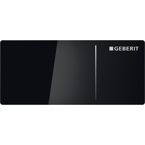 Кнопка смыва Geberit Sigma 70 (115.630.SJ.1) черная клавиша смыва geberit sigma 50 дымчатое стекло 115 788 sd 5