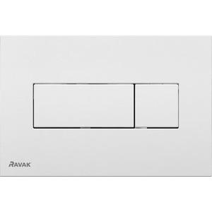 Кнопка смыва Ravak Uni (X01457) белая плюшевая маска зайки uni