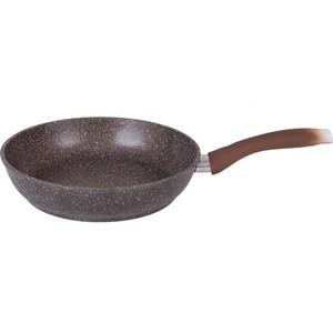 Сковорода d 22 см Kukmara Мраморная (смк227а Кофейный мрамор) qianghao кофейный