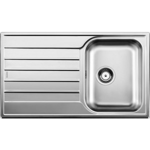 Мойка кухонная Blanco Livit 45 S Salto сталь 221480 +214381 (514786) blanco culina s chrome