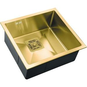 Мойка кухонная ZorG Inox Pvd (SZR-4844 bronze) мойка кухонная zorg inox rx rx 7851 r