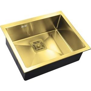Мойка кухонная ZorG Inox Pvd (SZR-5844 bronze) мойка кухонная zorg inox rx rx 7851 r