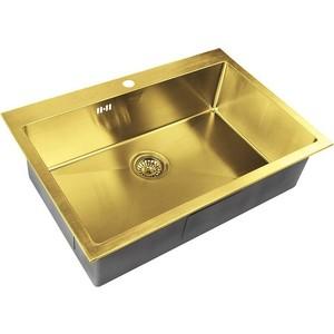 Мойка кухонная ZorG Inox Pvd (SZR-7551 bronze) мойка кухонная zorg inox pvd szr 51 copper