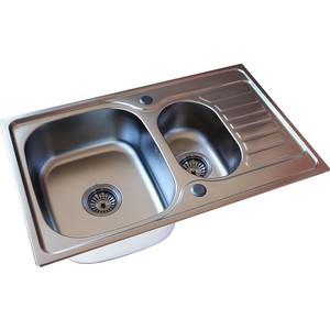 Мойка кухонная ZorG Inox Pvd (SZR-780-2-480 GRAFIT)