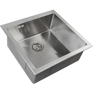 Мойка кухонная ZorG Inox RX (RX-4444) мойка кухонная zorg inox glass 600x510 gl 6051 white bronze