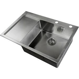 Мойка кухонная ZorG Inox RX (RX-7851-R) мойка кухонная zorg inox glass 600x510 gl 6051 white bronze