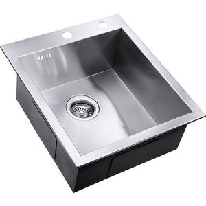 Мойка кухонная ZorG Inox X (X-4551) мойка кухонная zorg inox rx rx 5951