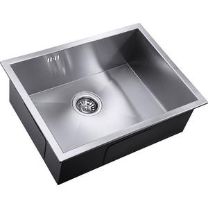 Мойка кухонная ZorG Inox X (X-5844) мойка кухонная zorg inox glass 600x510 gl 6051 white bronze