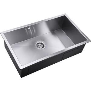 Мойка кухонная ZorG Inox X (X-7444) мойка кухонная zorg inox glass 600x510 gl 6051 white bronze