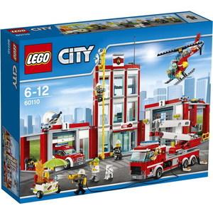 Конструктор Lego City - Пожарная часть (60110)