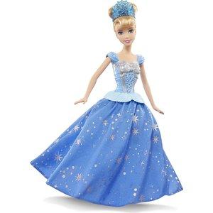 Mattel Disney Princess Кукла Принцессы Дисней Золушка с развевающейся юбкой CHG56