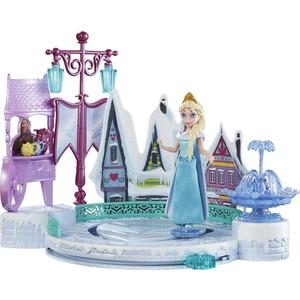 Mattel Disney Princess Кукла Принцессы Дисней Эльза в наборе с катком и другими аксессуарами DFR88