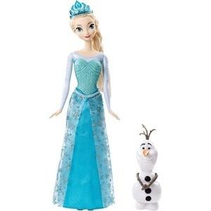 Mattel Disney Princess Кукла Принцессы Дисней Эльза, в наборе с Олафом CMM87 mattel храбрая сердцем с фигурками трансформерами принцессы disney