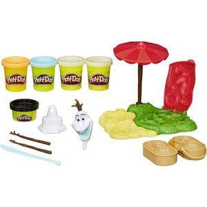 Hasbro Play-Doh Игровой набор Летние приключения Олафа B3401EU4 hasbro игровой набор магазинчик печенья play doh