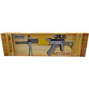 Abtoys Автомат Arsenal с подставкой, со световыми и звуковыми эффектами ARS-268 abtoys со стрелами на присосках